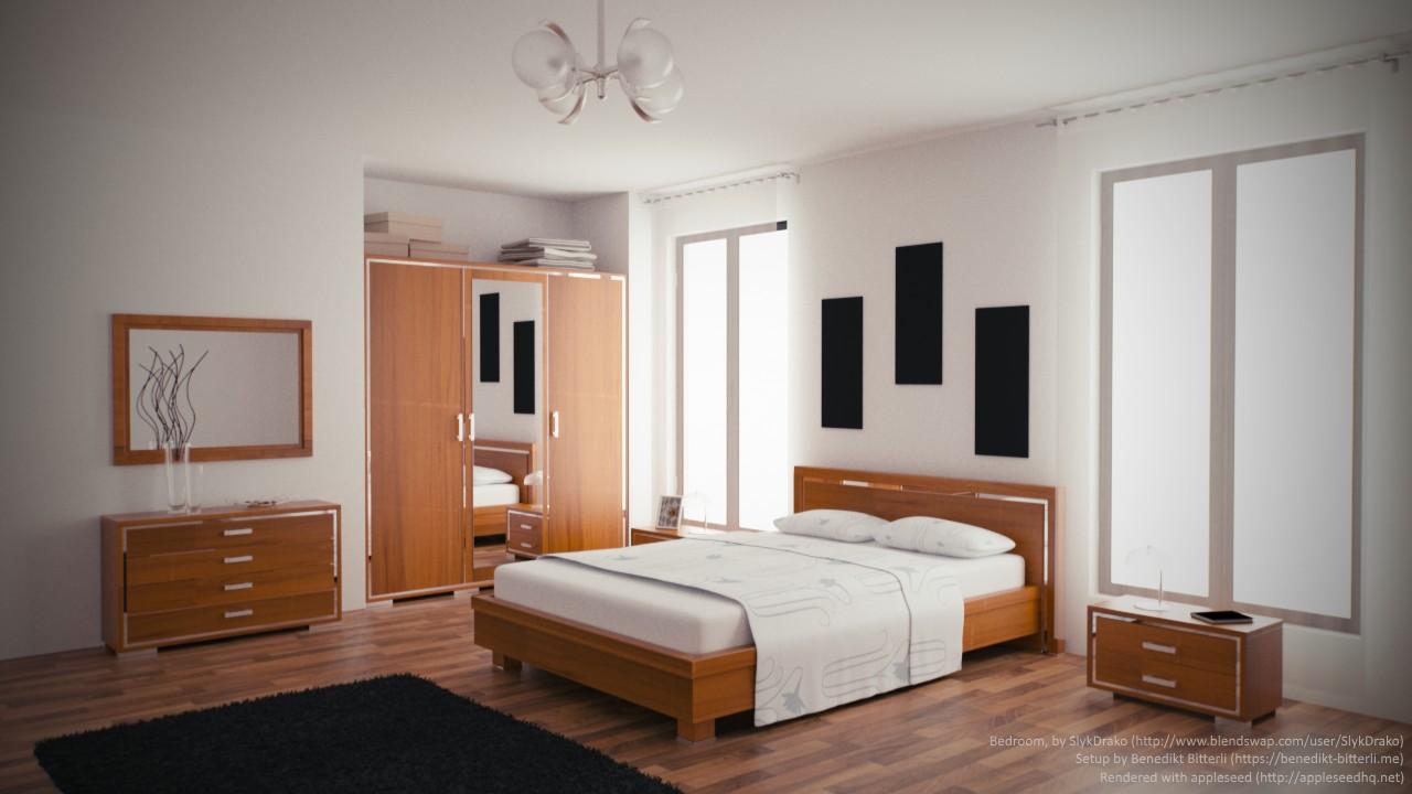 Bedroom by Blend Swap user SlykDrako